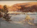 Rhoades Elizabeth winter evening light