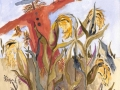 Morgan Pamela Scrarecrow In The Corn 200 7.6 x 9.6