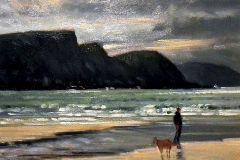 Jerry-Caron-Evening-Stroll-Achill-wc