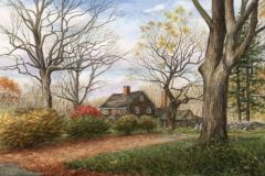 Falstrom_Angie_LymeHomestead_watercolor_3.5x5_975