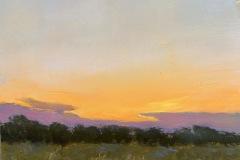 Garvin_Sandy_Summer-Night-at-Mile-Creek_-oil