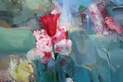 Howlader_Sunil_FlowersinmyGarden3_acrylic_16x20_1500