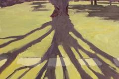 "Dora Atwater-Millikin, ""Studio Tree"", oil, $4,950"