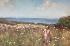 """Joann Ballinger, """"Nature's Garden"""", pastel, $1,850"""