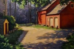 "Harley Bartlett, ""Light and Shadow"", oil, $3,000"