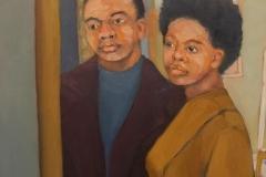"""Michael Centrella, """"Yuag/Impression"""", oil, $2,200"""