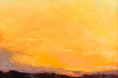 "Sandy Garvin, ""Afterglow"", oil, $800"