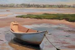 "Jennifer Holmes, ""Little Dory"", oil, $1,000"