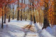 "Karen Israel, ""Trail Blazers"", pastel, $1,700"