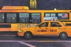 """Christine Ivers, """"Cabmium Orange"""", pastel, $1,800"""