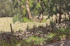 """Jim Laurino, """"Summer Lane"""", oil, $1,800"""