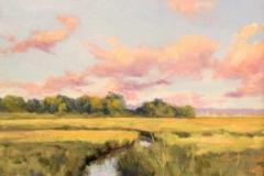 """Barbara Lussier, """"Saltmarsh"""", oil, $1,600"""