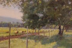 "James Magner, ""Rob's Farm"", oil, $1,150"