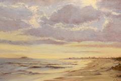 """James Magner, """"Silver Light"""", oil, $950"""