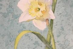 """Barara Maiser, """"Arabesque"""", watercolor, $450"""