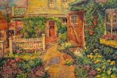 """Leif Nilsson, """"Daffodil Garden"""", oil, $15,000"""