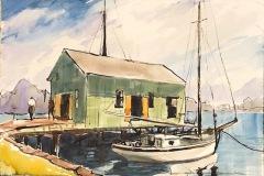 """Howard Park, """"Nellie"""", watercolor , $1,000"""