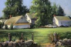 """Beverly Schirmeier, """"Griswold Point Summer Retreat"""", pastel, $575"""