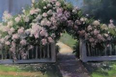"Beverly Schirmeier, ""Welcome Home Roses"", pastel, $550"