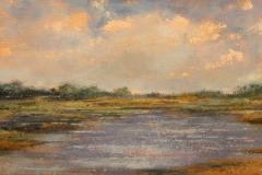 "Nancy Schroeder, ""Allen's Cove "", oil, $500"
