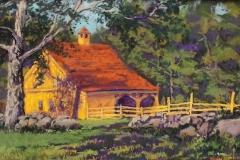"Patricia Seekamp, ""Bright Morning"", pastel, $550"
