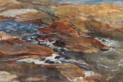 "Shauna Shane, ""Branford Coast"", watercolor, $950"