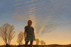 "Len Swec, ""Twilight Solitude"", acrylic, $2,000"