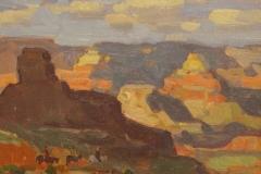 """John C. Traynor, """"Bright Angel Trail"""", oil, $3,900"""