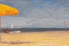 """Nelson H. White, """"Bagno Artiglio"""", oil, $2,000"""
