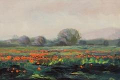 """Nelson H. White, """"The Poppy Field"""", oil, $6,000"""