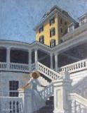 """Sarah Stifler Lucas, """"Ocean House Memories"""", oil, 14x11, $1,900"""