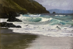 "Christine D. Ivers, ""Nature's Hypnotist"", pastel, 12x18, $1,250"