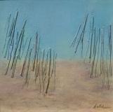 "Deborah Kotchen, ""Beach Path"", oil, 8x8, $375"