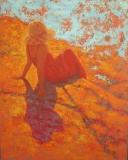 """Sarah Stifler Lucas, """"Coastal Oasis"""", oil, 30x24, $3,200"""