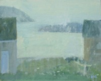 "Ariane Luckey, ""Lifting Fog"", oil , 16x20, $1,200"