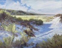 "James Magner, ""Distant Views"", oil, 24x30, $5,800"