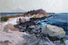 """Robert Noreika, """"Hammonassett View"""", oil, 24x36, $4,800"""