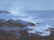 """Susan Shaw, """"Another Day"""", oil, 6x8, $375"""