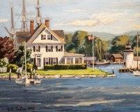 """Bill Sonstrom, """"Mystic River"""", oil, 16x20, $1,200"""