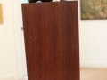 Donna Colburn	, <i>	Fragment	</i>, 	wood & bronze	,	$675