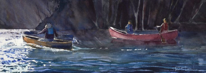 LoescherFall on the salmon river