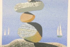 Coffey_Anne_FindingBalance_paintedpapercollage_10x10_250