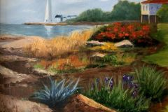 Dunphy_Marilyn_SeasideGarden_oil_16x20_395