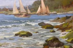 Hanson_Bill_LeavingTheHarbor_oil_11x14_2500