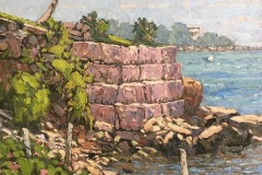 Laurino_Jim_Trolley-Point-Seawall_oil_16x14_1700