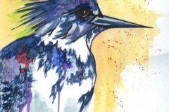 Morgan_Pamela_Kingfisher_Watercolor_13.5x10.5_795