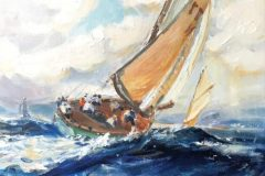 Serban_Blanche_Nimble-Sailor_oil_12x12_300