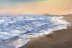 Sokol_Lucia_Serene-Dawn_watercolor_10x14_350