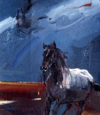 Sunil Howlader, Destination-3, acrylic, 11 x 10