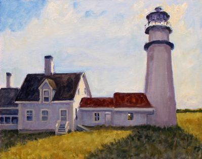 Jack Broderick, Truro Light, Oil